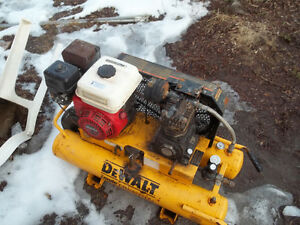 dewalt gas air compressor