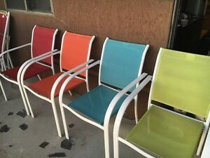 Patio chairs