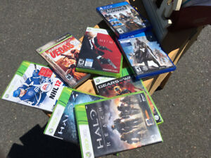 Xbox and PS4 games - 6 Xbox 360 & 2 PS4