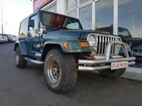 2002 Jeep Wrangler 4.0 Sahara Hard Top 4x4 3dr