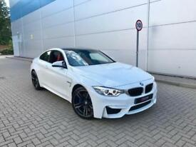 2014 BMW M4 3.0 ( 425bhp ) DCT Coupe WHITE + RED Leather + Stunning Spec
