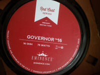 "**!!!EMINENCE RED COAT SERIES GOVERNOR 12"" 75W 16OHM SPEAKER!!!!"