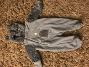 3-6 month KoalaBaby fuzzy Snow Suit