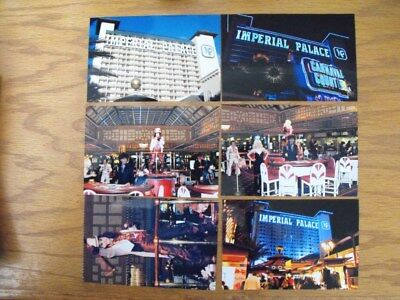 Vintage LAS VEGAS EXTINCT IMPERIAL PALACE CASINO Photo Lot of 6 Personal Photos