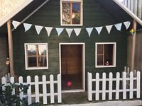 Wooden Playhouse for sale