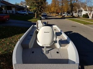 2014 Mirrorcraft 1615 Outfitter / 25 HP Yamaha London Ontario image 10
