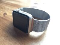 Apple Watch 42mm Sport + extras