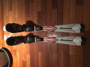 Ensemble de Botte et Ski alpin Rossignol West Island Greater Montréal image 3