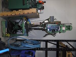 Metal working equiptment  DRILL PRESS/ COLD CUT SAW