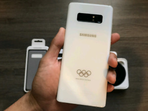 Rare Samsung Note 8 64GB Olympic Edition in Ivory White