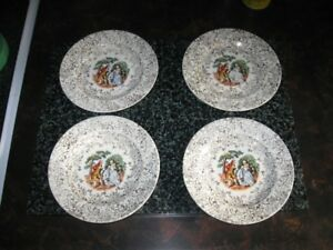 VINTAGE BREAD & BUTTER PLATES - REDUCED!!!!