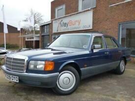 1988 Mercedes-Benz S-CLASS 3.0 300 SE 4d 177 BHP Saloon Petrol Automatic