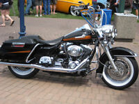 Harley Davidson Road King classic- FLHRCI-customized and babied.