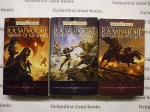 """Forgotten Realm- The Sellsword Trilogy"" by: R.A. Salvatore"