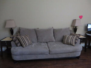 Brown SOFA / COUCH, - $600