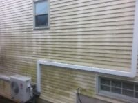 Dirty Eaves Gutters Siding Decks & HEAT PUMP CLEANING