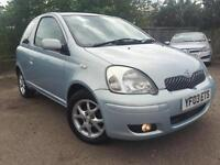 2003 Toyota Yaris 1.0 VVT-i T Spirit SERVICE HISTORY 12 MONTHS MOT 2 Owners