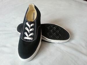 BRAND NEW Converse Chuck Taylor black clean CVO shoes