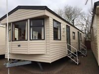 Haven Seashore 3 bed deluxe caravan for hire Great Pitch Great Prices
