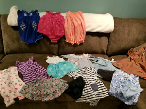 Awesome baby girl bundle for warmer weather