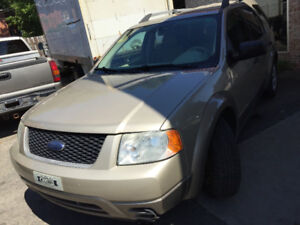 2006 Ford FreeStyle/Taurus X . SUV, Crossover