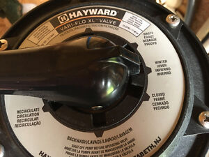 Hayward High Rate Sand Filter.