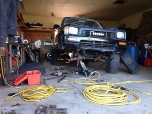 ISO solid axle for 90 yota and info on swapping