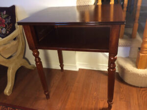 Bombay Company Vintage Solid Wood TV Table/Unit- $55