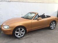 Mazda mx5, full years mot, low Milage