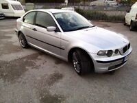 BMW 316ti Compact 1.8 Petrol With Fresh 12 Months MOT Good Condition P/X WELCOME