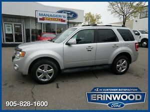 "2009 Ford Escape Limited6CYL/LTHR/PROOF/REV SENS/17"" CHROME WHLS"