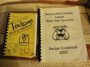 School Cook Books