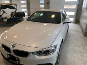 2016 BMW 428i hardtop convertible extremely low kms