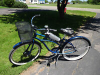 Electra Cruiser with 36v Ypedal kit and Sony Lithium battery