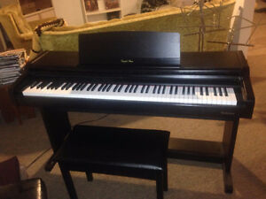 Electric piano suitable for home studio