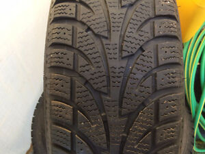 set of 4 winter tires  215/70r15