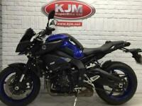 YAMAHA MT10, 2018/18, 1 OWNER AND JUST 5,928 MILES, SUPER CLEAN BIKE