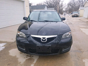 2008 Mazda3, fully loaded, sunroof, safetied