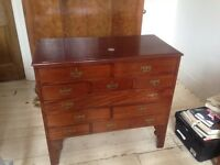 Vintage chest of drawers, furniture, restoration