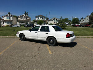 2008 Ford Crown Victoria P71 Sedan
