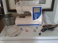 Embroidery Machine, Swiss Design, ELNA, Expressive 820