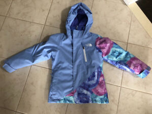 Girls Size 6 The North Face Abbey 3 in 1 Jacket**BRAND NEW**