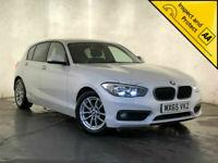 2015 65 BMW 116D ED PLUS SAT NAV PARKING SENSORS £0 ROAD TAX SERVICE HISTORY
