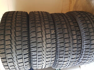 Winter studded tires for 2016 Chevrolet Silverado (275/55R20)