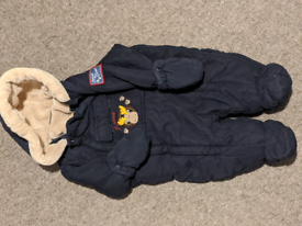 3-6 mo boys winter suit