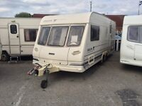 2 BERTH 2002 TWIN WHHEL LUNAR WITH END BATHROOM AND AWNING MORE IN STOCK AND WE CAN DELIVER