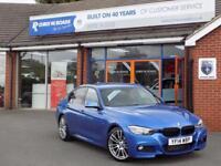 2014 14 BMW 3 SERIES 320D 2.0 M SPORT 4DR (180) DIESEL