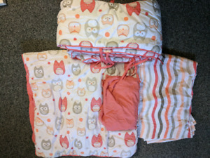 Adorable baby bedding set from bouclair