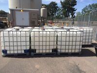 1000LT water totes NEW SHIPMENT just in