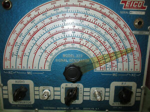 Eico Signal generator Model 322. Price reduced again. West Island Greater Montréal image 3